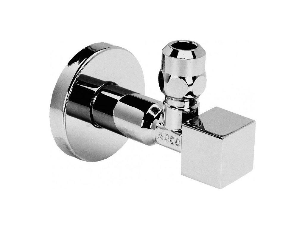 CUBO rohový ventil A-80 1/2'x3/8' s matkou, chrom 1CUBO