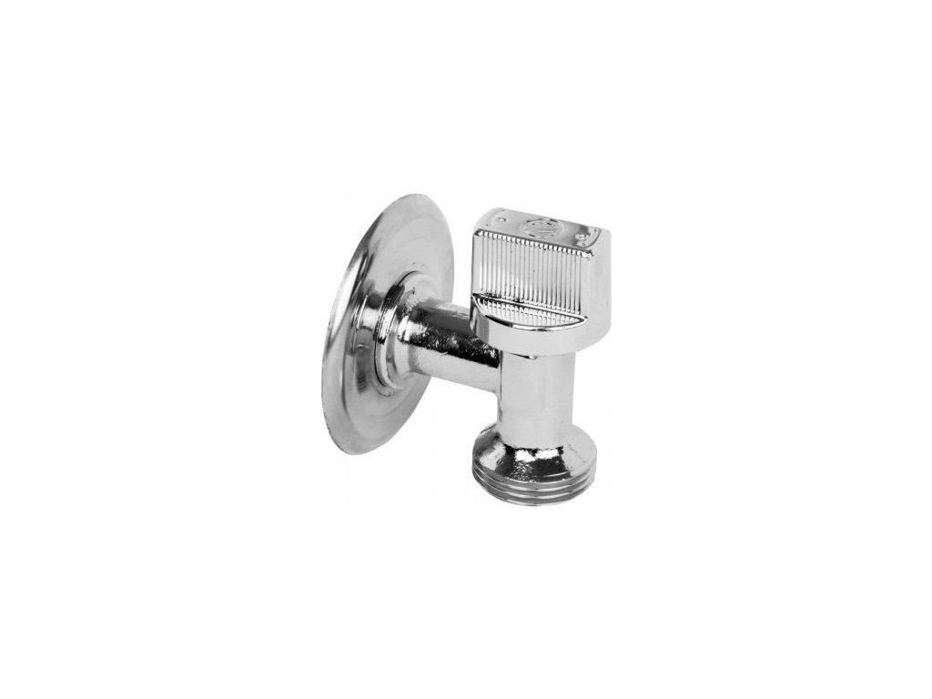 ARCO pračkový ventil do malých prostor L-86 1/2'x3/4', chrom L-86