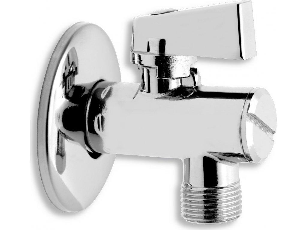 Novaservis Rohový ventil s filtrem, krytkou a kovovou pákou 1/2x3/8 CF3010/10