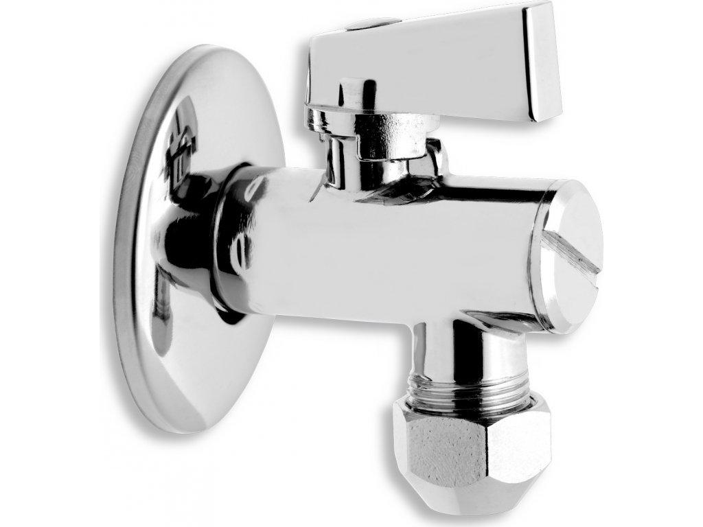Novaservis Rohový ventil s filtrem, kov pákou a převl matkou 1/2x3/8 CF3010/10M