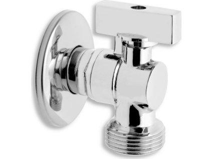 """Novaservis Pračkový rohový ventil se zpětnou klapkou 1/2""""x3/4"""" CF3016"""