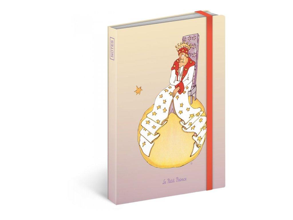 Notes A6 Malý princ (Le Petit Prince) linkovaný, 10,5 x 15,8 cm