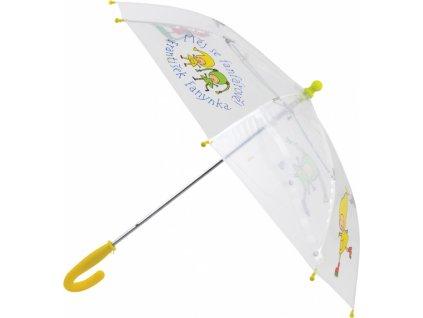 Kouzelná školka - deštník dětský průhledný, 66 cm