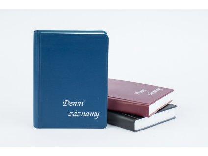 Denní záznamy A6 UNI PVC