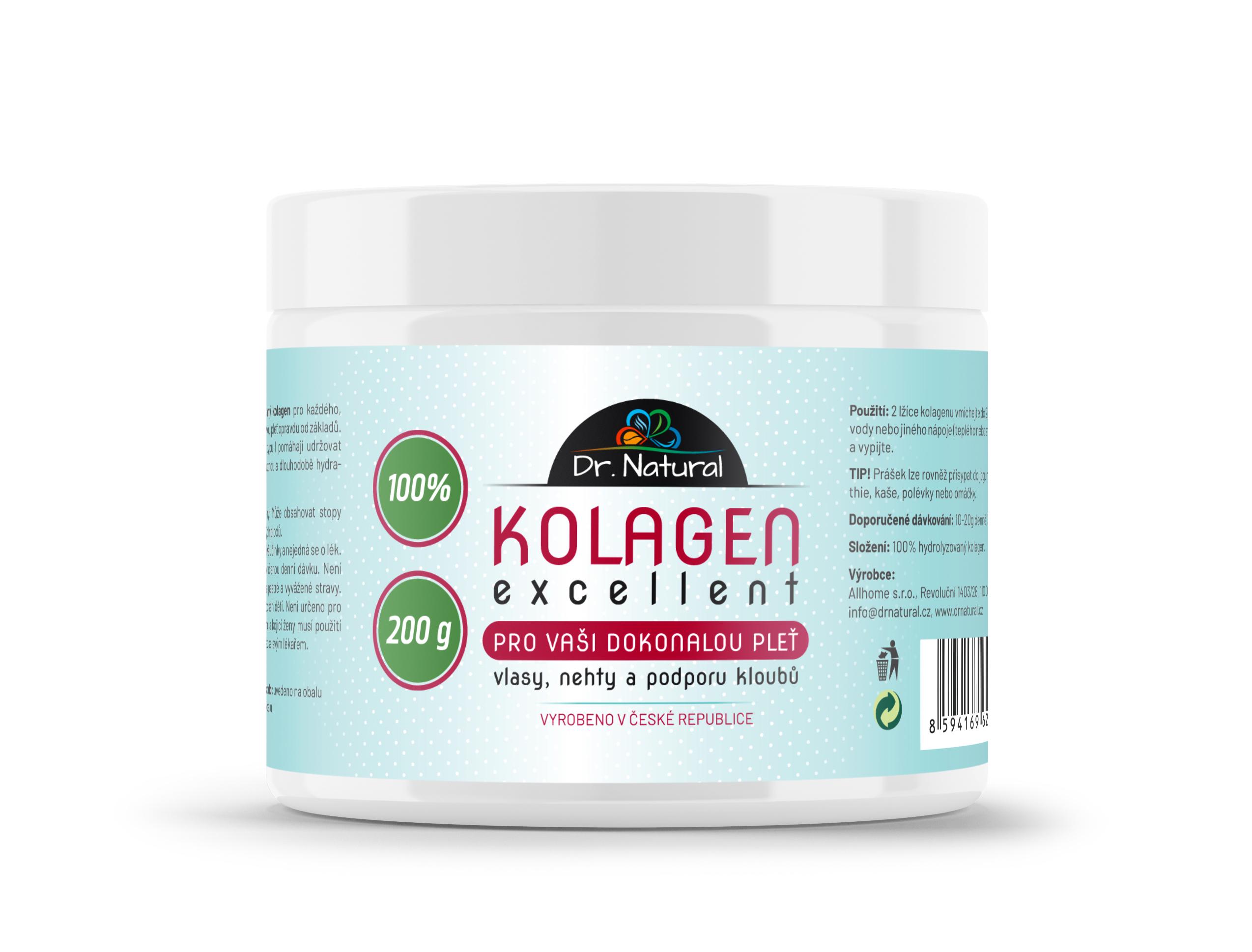 Dr.Natural Kolagen Excellent 200 g 100%
