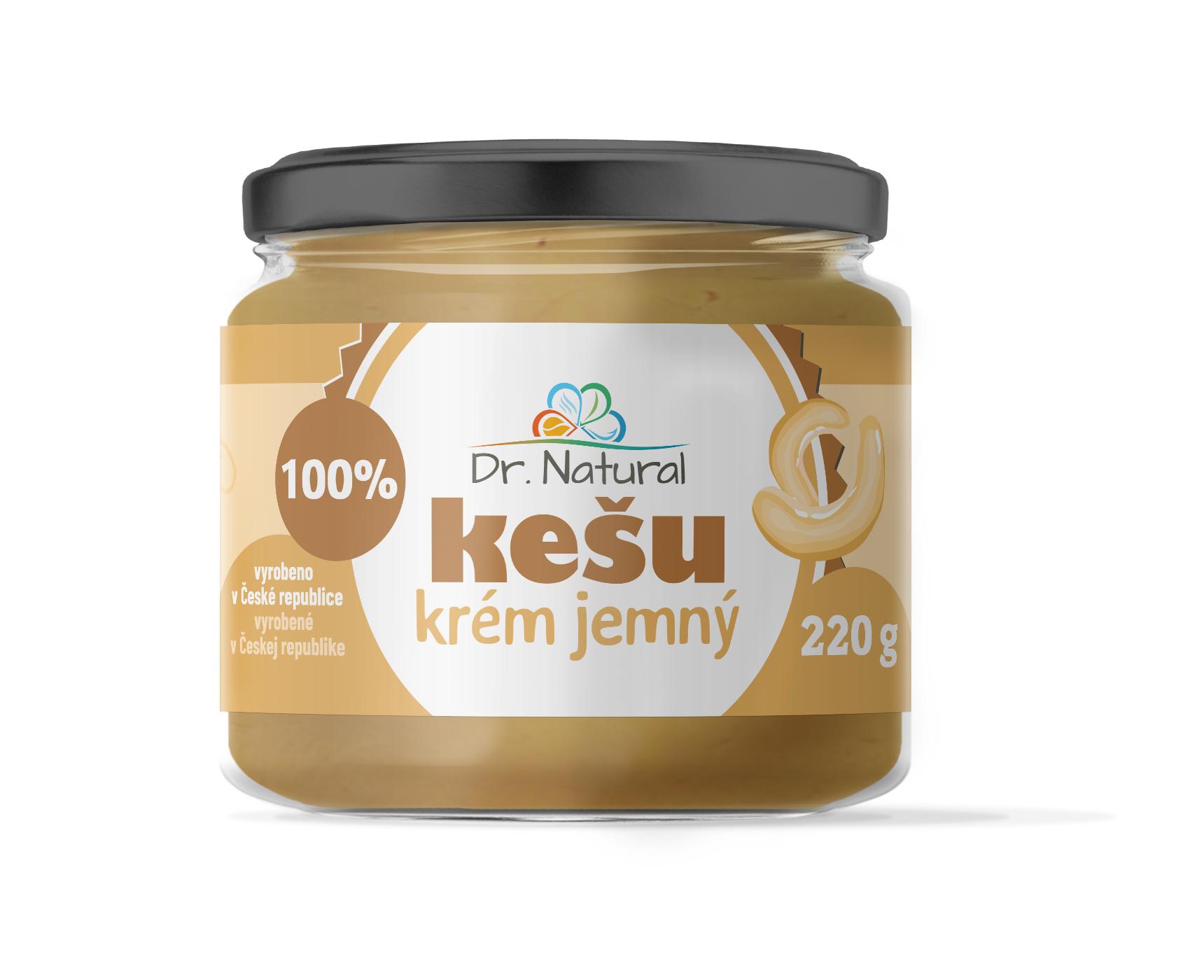 Dr.Natural Kešu krém jemný 220g 100%