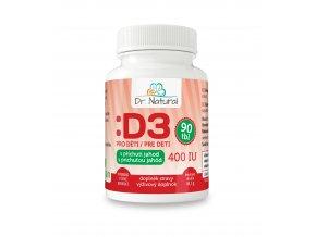 DR NATURAL VIT D3 DETI 90tbl VIZUAL