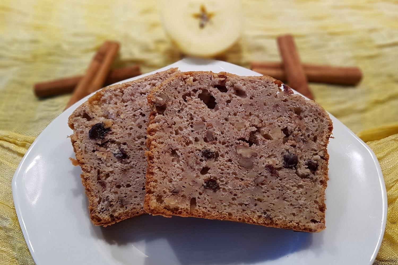 Recept: Zdravý jablečný chléb ze špaldové mouky