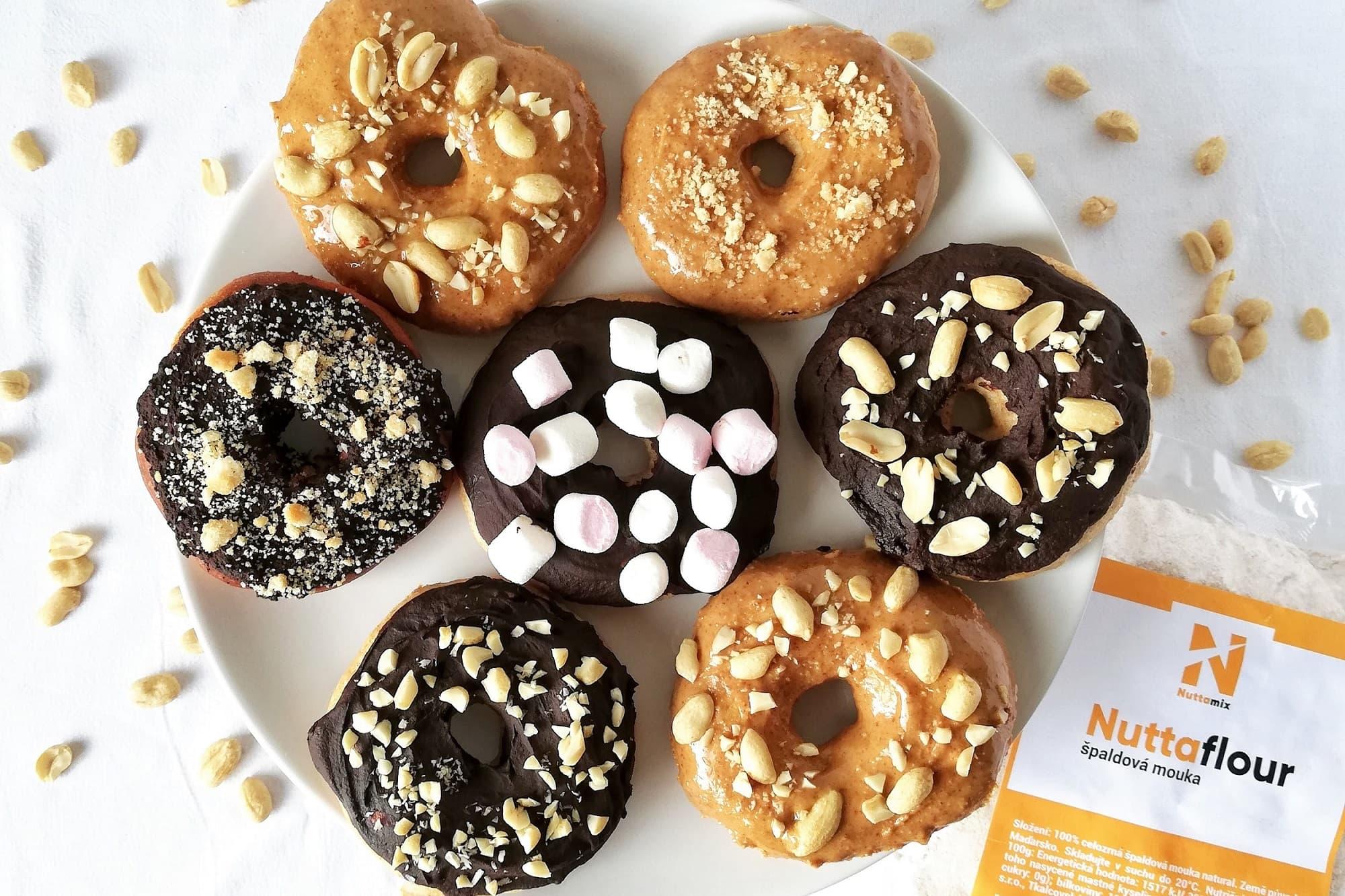 Recept: Domácí špaldové donuty