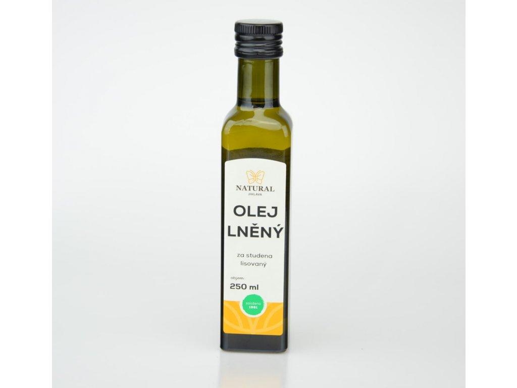 olej lneny za studena lisovany