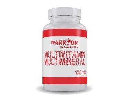 warrior multimineral multivitamin