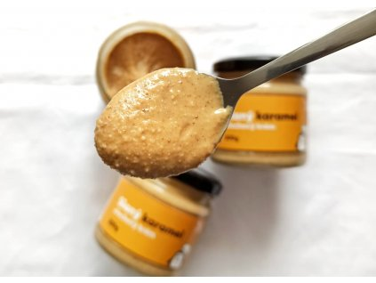 slany karamel orechove maslo nuttacream nuttamix