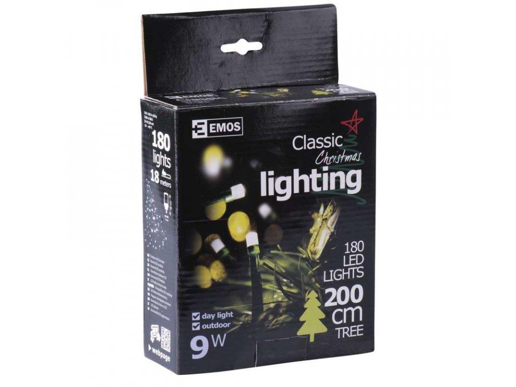 EMOS Lighting 180 LED řetěz, 18m, IP44, denní bílá ZY0804