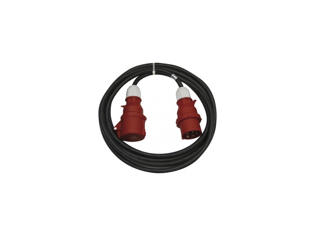 EMOS 3f prodlužovací kabel 5×16A, 15m PM0903