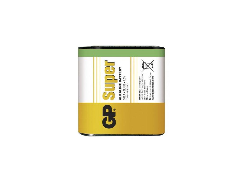 Alkalická baterie GP Super 3LR12 (4,5V)