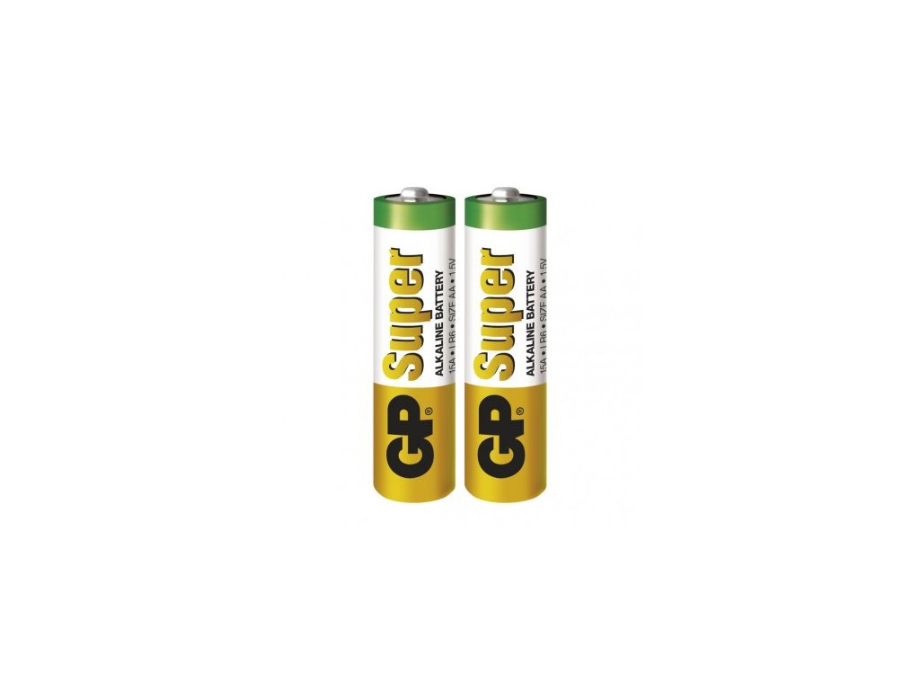 GP Batteries Alkalická baterie GP Super AA (LR6) B1320