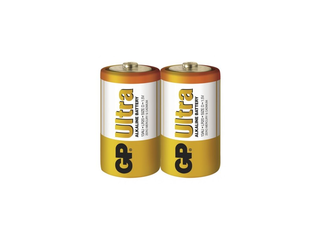 1/3 GP Ultra Alkaline D 2ks 1014402000