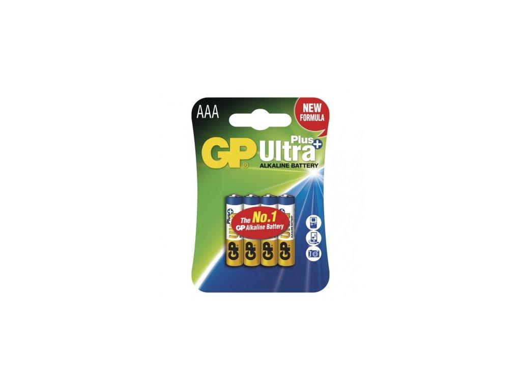 GP Batteries Alkalická baterie GP Ultra Plus AAA (LR03) B1711