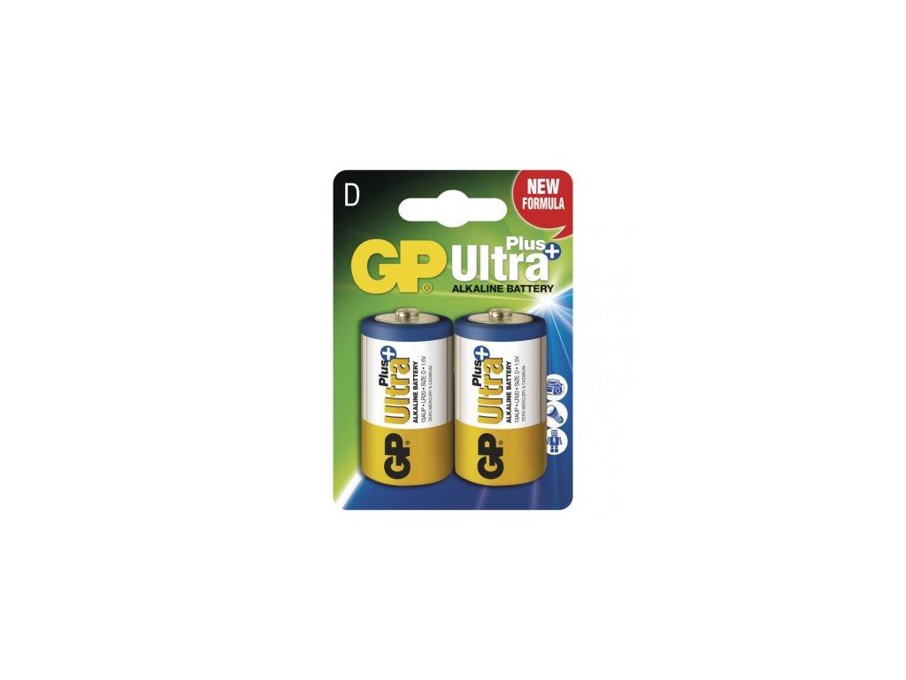Alkalická baterie GP Ultra Plus D (LR20)