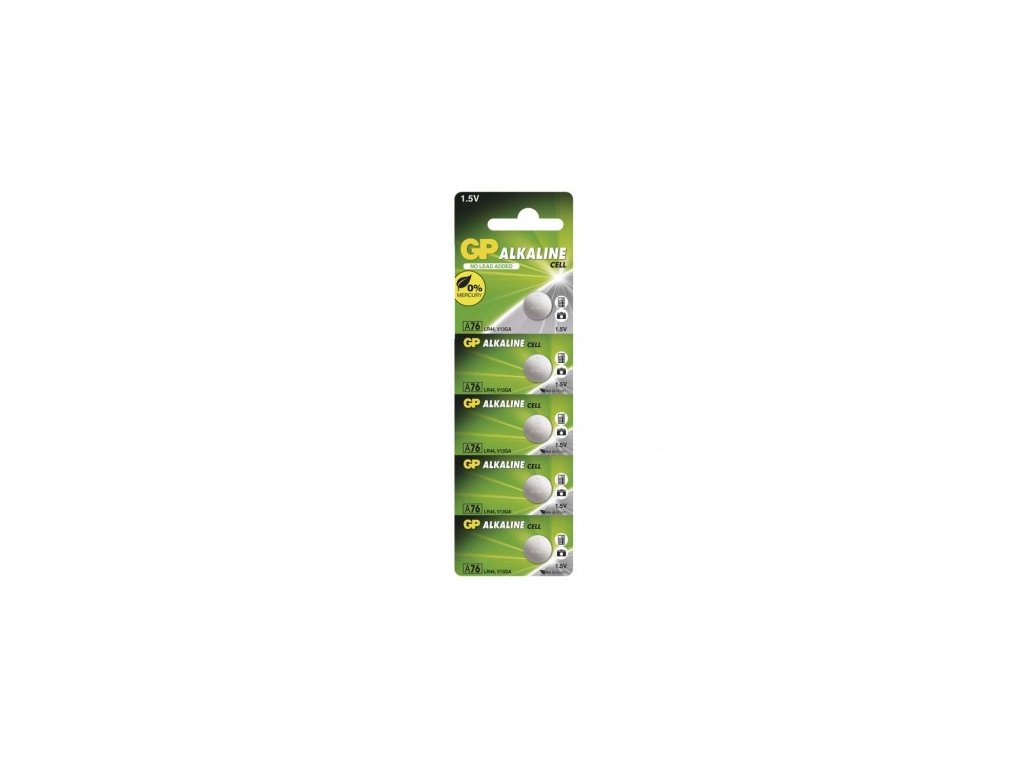 GP Batteries Alkalická knoflíková baterie GP A76F (LR44) B1376