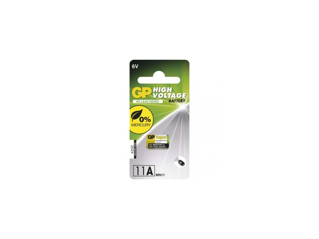 GP Batteries Alkalická speciální baterie GP 11AF (MN11) 6 V B13021