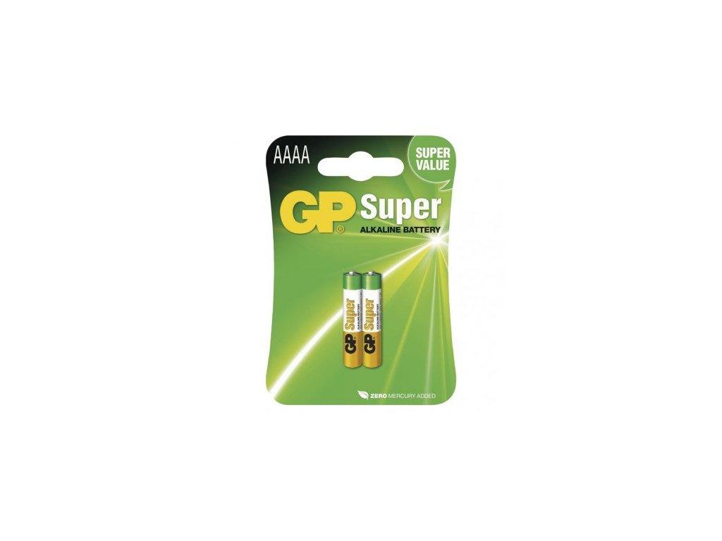 Alkalická speciální baterie GP 25A (AAAA, LR61) 1,5 V