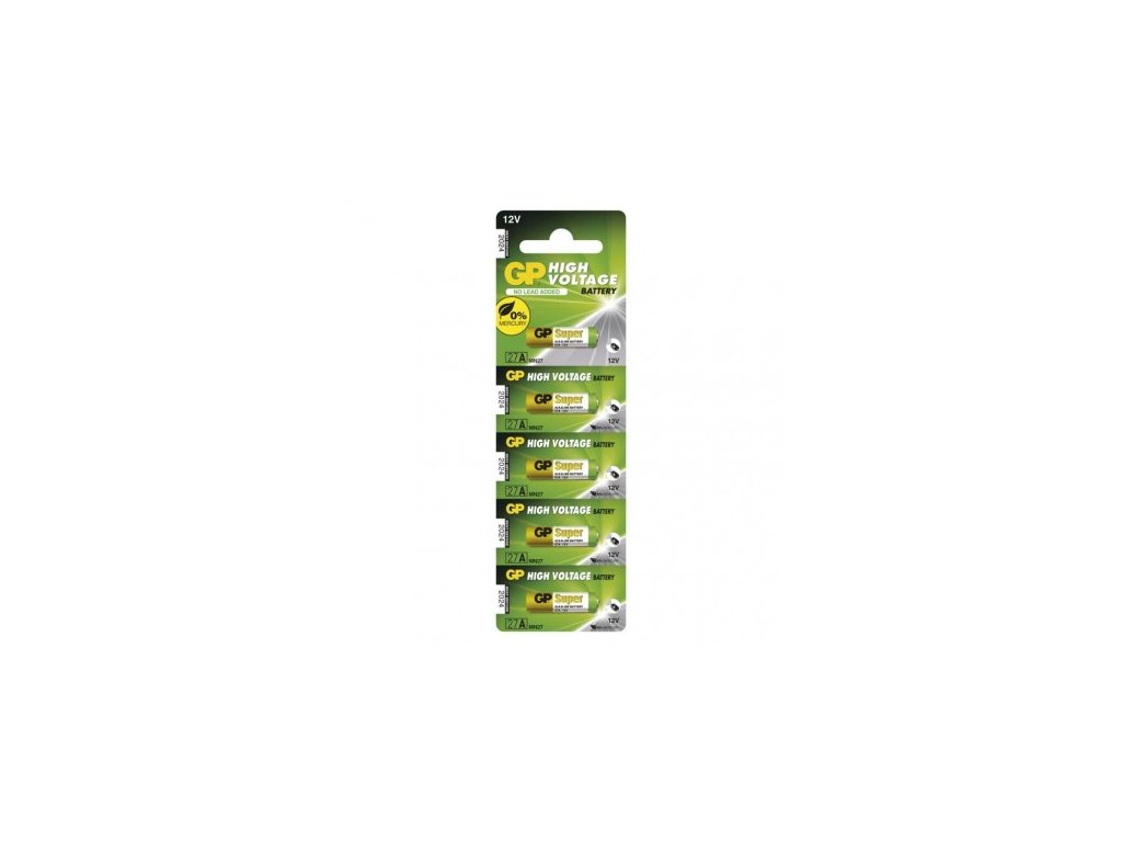 GP Batteries Alkalická speciální baterie GP 27AF (MN27, V27GA) 12 V B1301