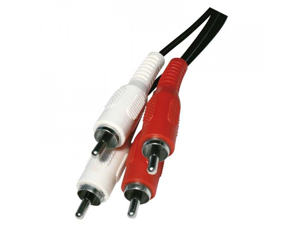 EMOS AV kabel 2x CINCH - 2x CINCH 5m SD4105