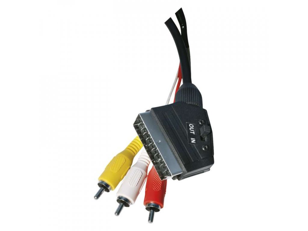 EMOS AV kabel SCART - 3x CINCH 1,5m SD2101