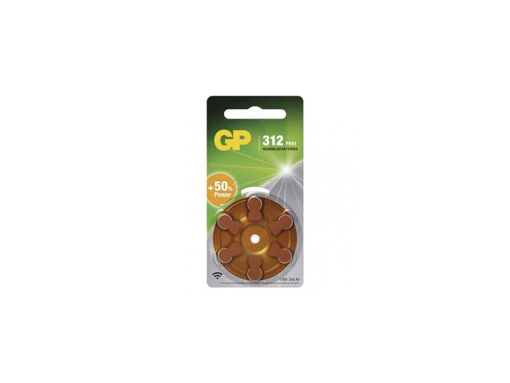 GP Batteries Baterie do naslouchadel GP ZA312 (PR41) B3512