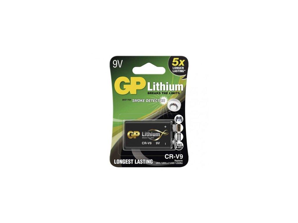 GP Batteries Lithiová baterie GP 9V (CR-V9) B1509