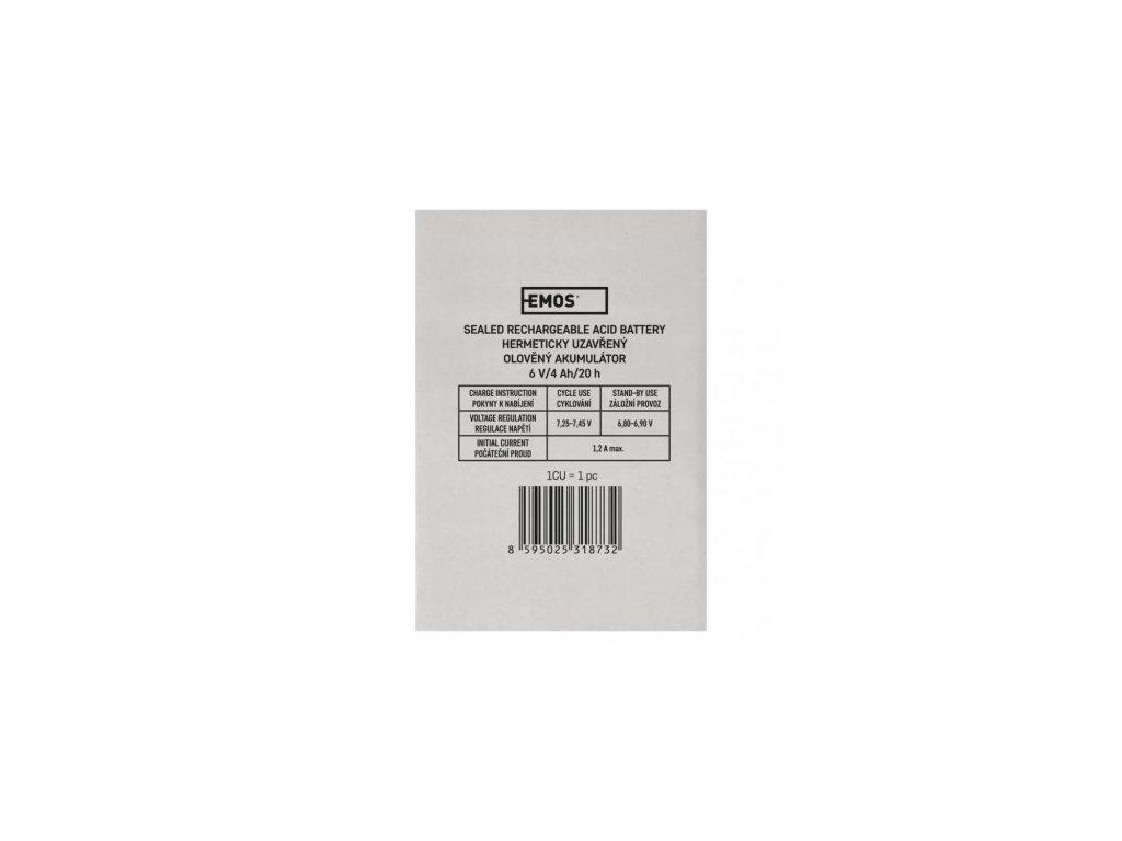 EMOS Náhradní akumulátor pro 3810 (P2301, P2304, P2305, P2308) B9641