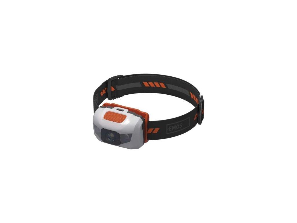 EMOS LED čelovka P3521, 85 lm, 65m, 3× AAA P3521