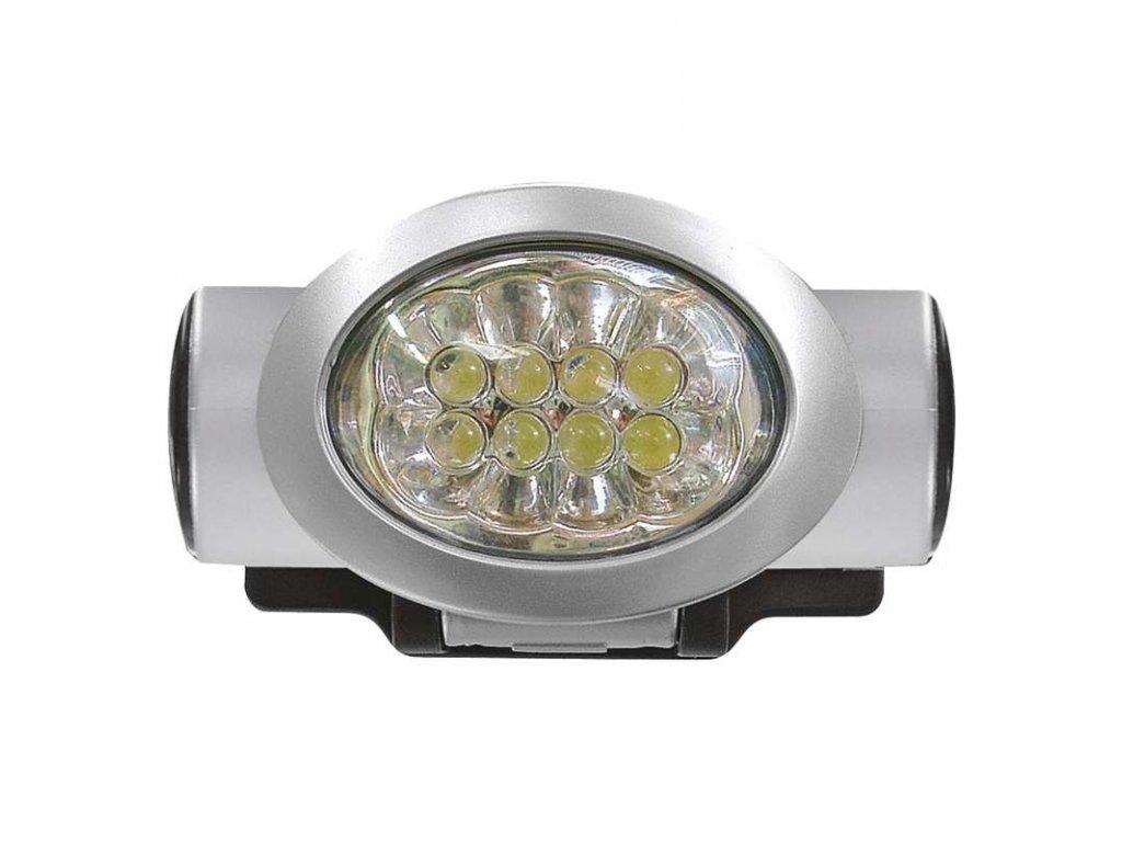 EMOS Čelovka na 3x AAA, 8x LED P3508