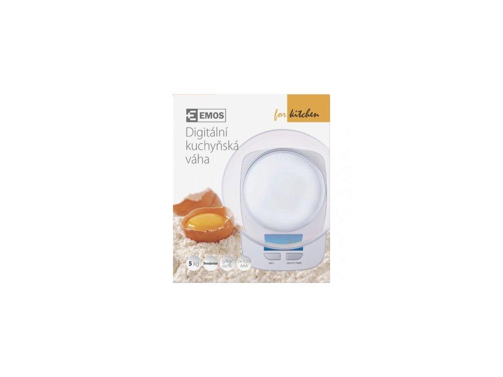 EMOS Digitální kuchyňská váha GP-KS021, bílá EV016