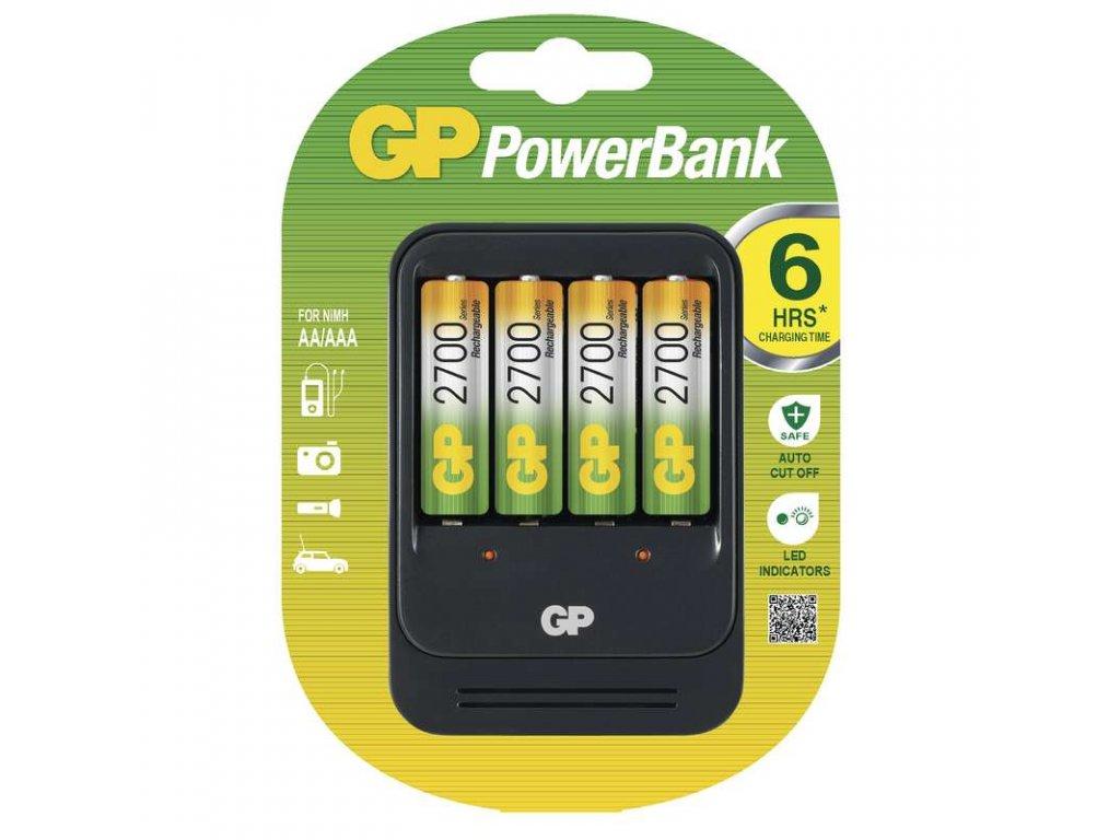 GP Batteries GP nabíječka baterií PB570 + 4AA NiMH2700 B0057X