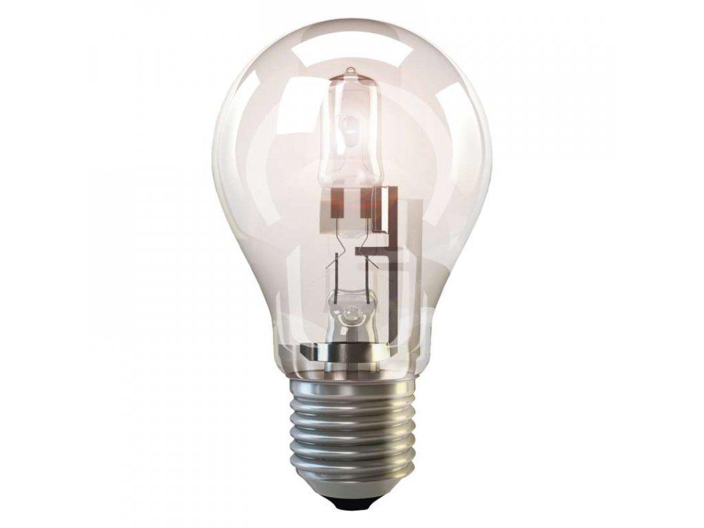 EMOS Lighting Halogenová žárovka ECO A60 70W E27 teplá bílá, stmívatelná ZE0801