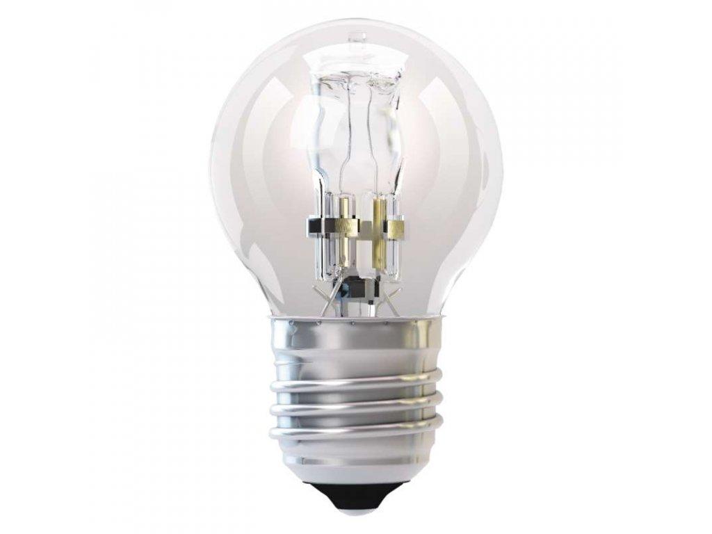 EMOS Lighting Halogenová žárovka ECO Mini Globe 42W E27 teplá bílá, stmív. ZE1003