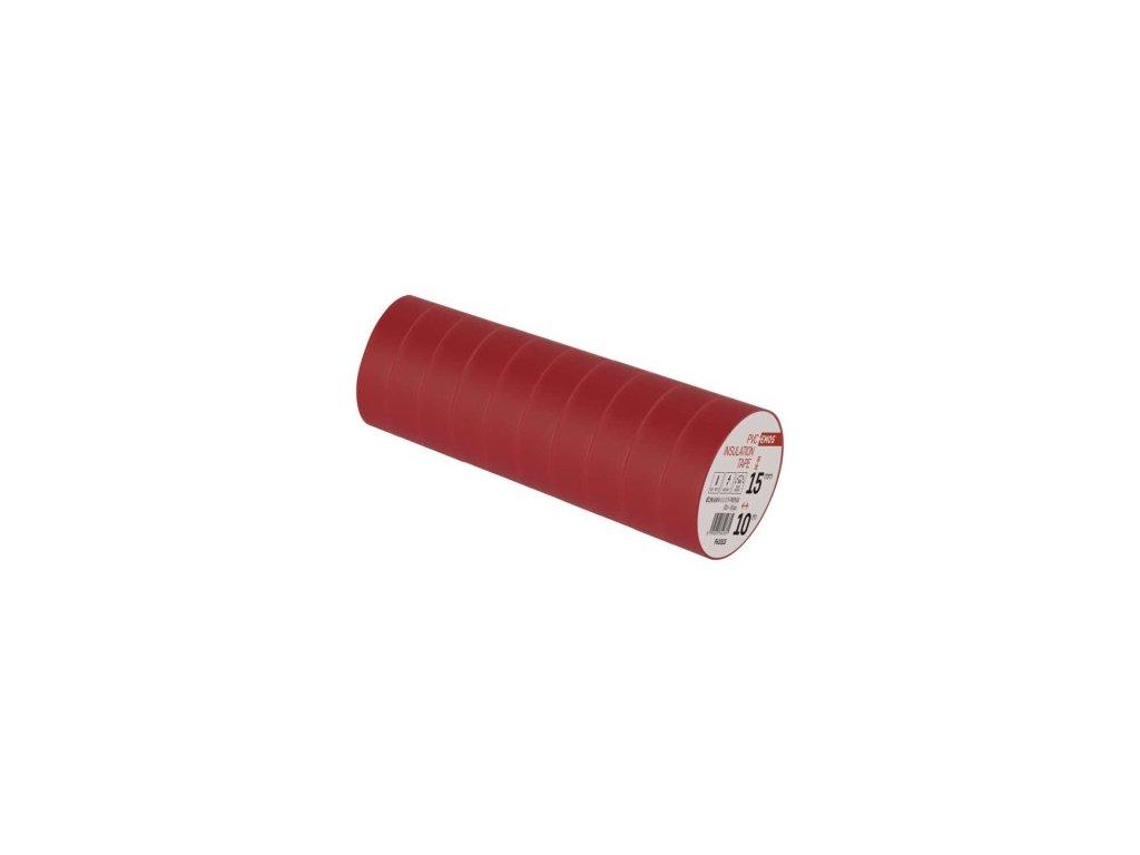 EMOS Izolační páska PVC 15mm / 10m červená F61513