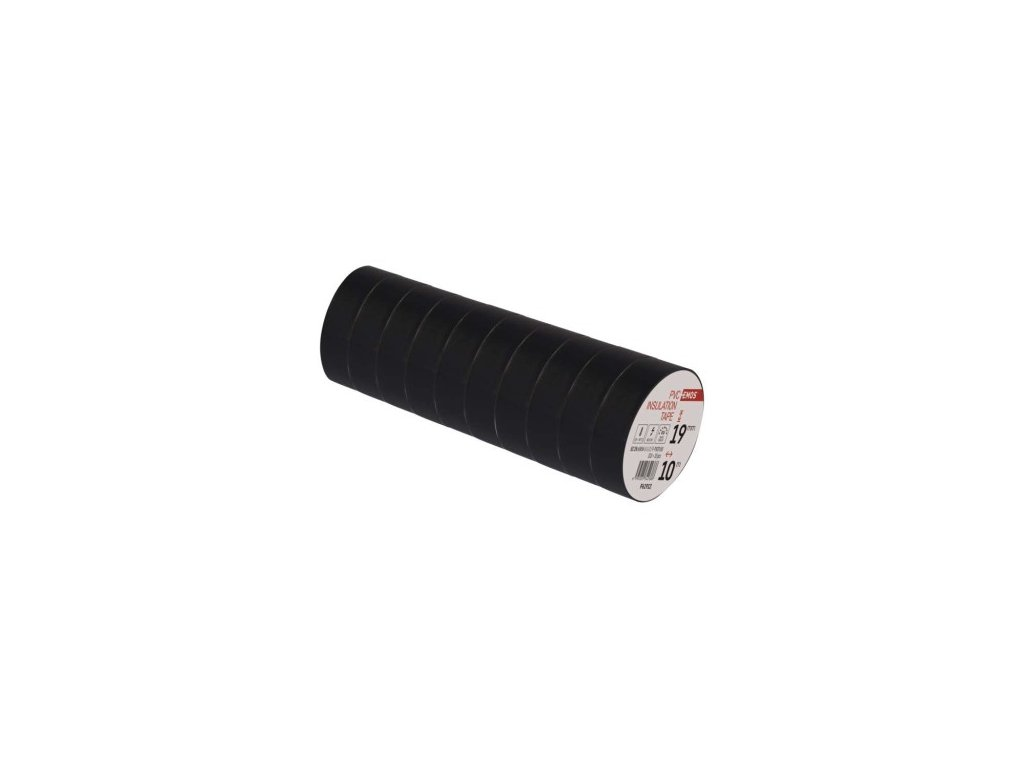 EMOS Izolační páska PVC 19mm / 10m černá F61912