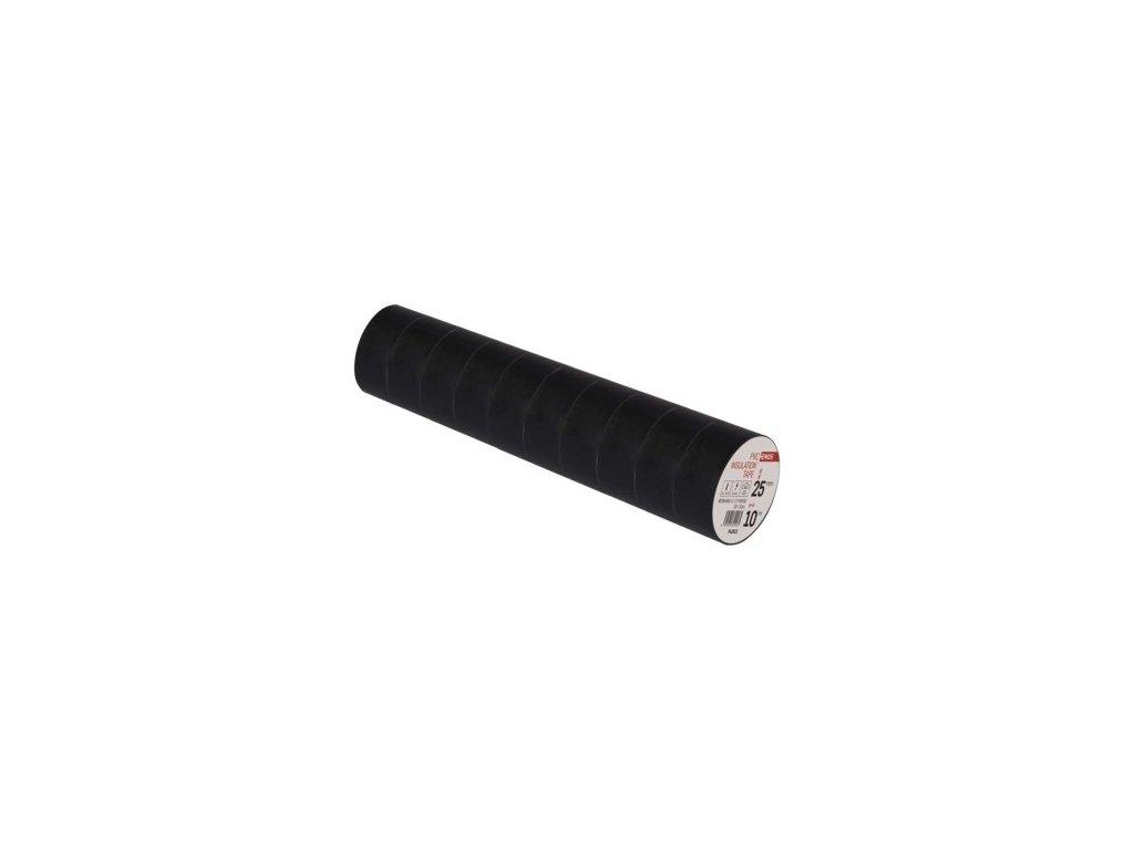 EMOS Izolační páska PVC 25mm / 10m černá F62512