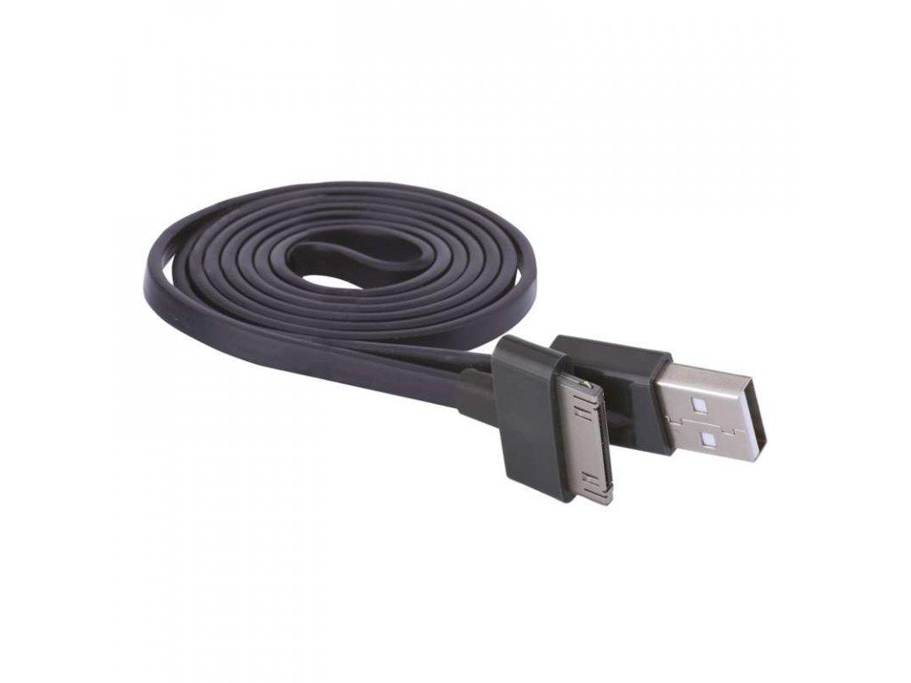 EMOS USB kabel 2.0 A/M -  i30P/M 1m černý SM7012BL