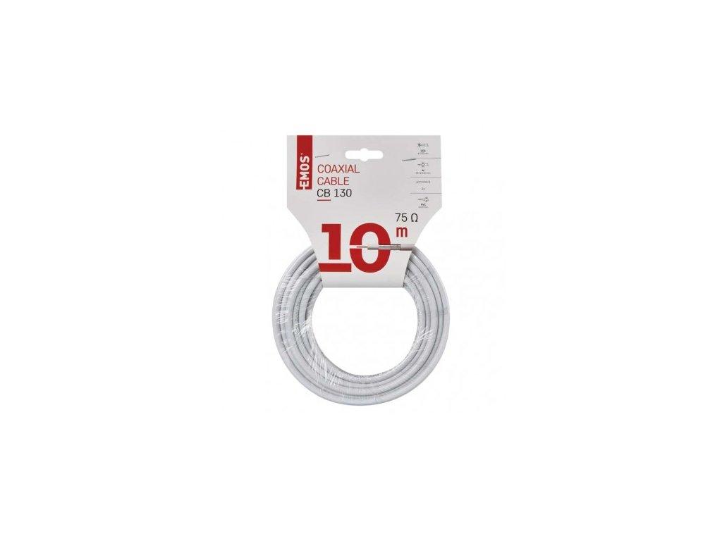 EMOS Koaxiální kabel CB130, 10m S5374