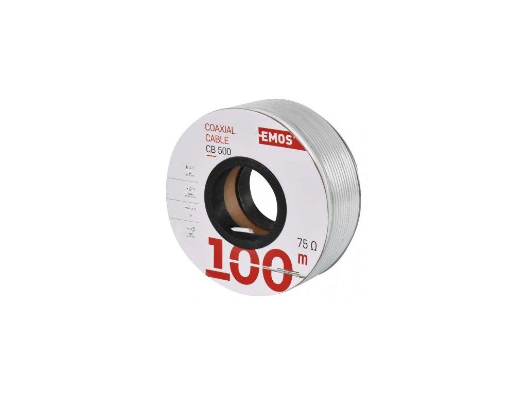 EMOS Koaxiální kabel CB500, 100m S5252