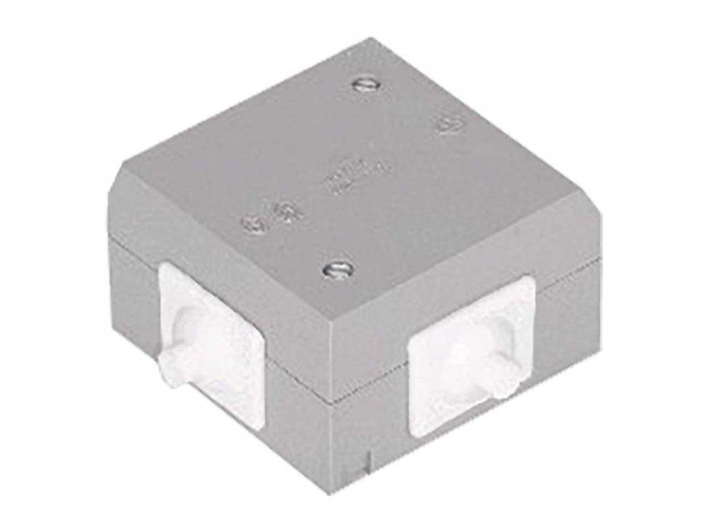 EMOS Krabice 6456-13 plastová, bílá A2216