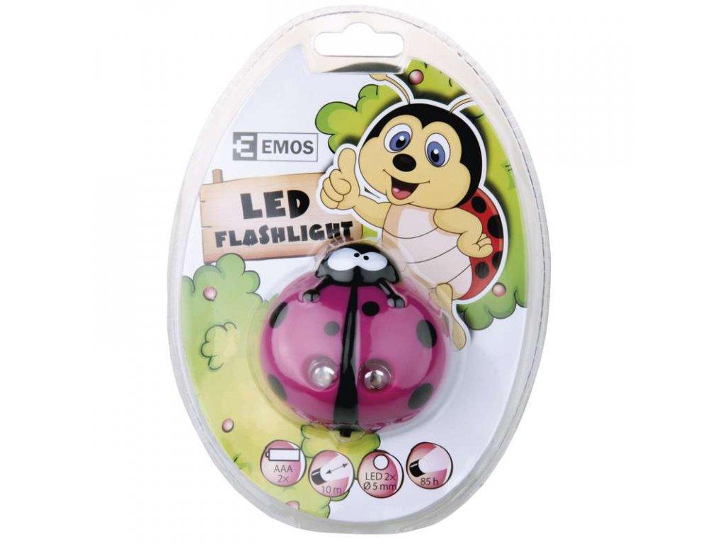 EMOS LED čelovka - beruška P3524