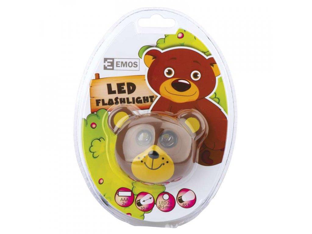 EMOS LED čelovka - medvěd P3525