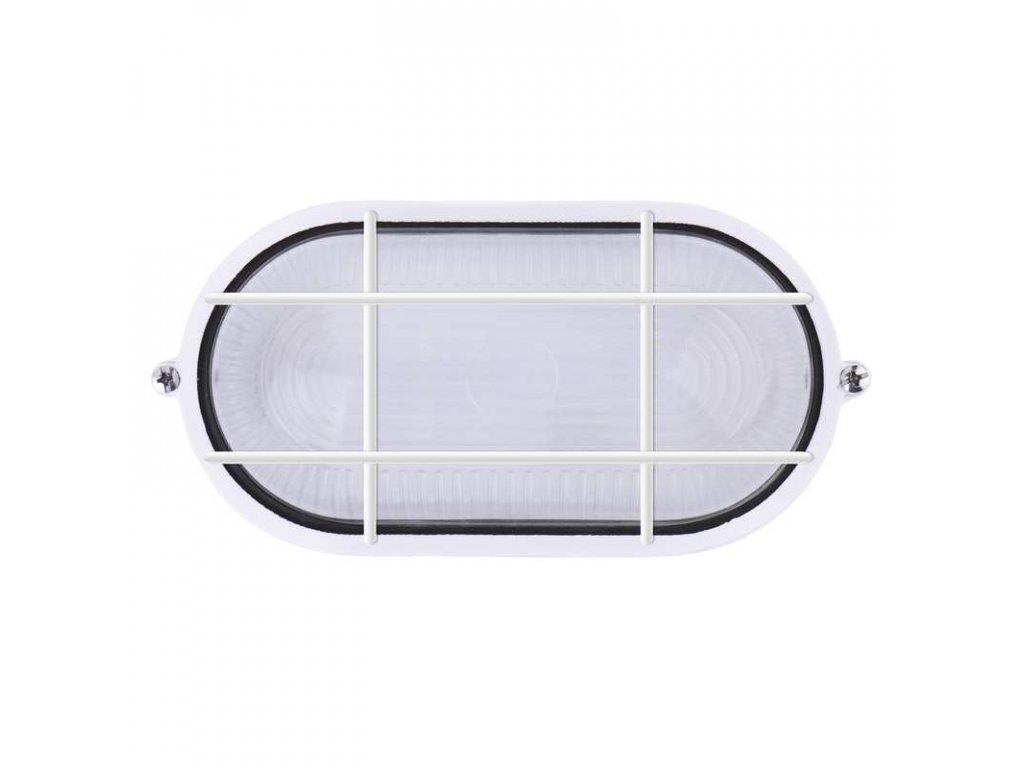 EMOS Lighting LED přisazené svítidlo, ovál mřížka 12W denní bílá ZM3208
