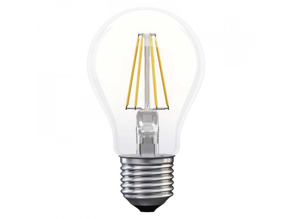 EMOS Lighting LED žárovka Filament A60 6W E27 teplá bílá Z74220