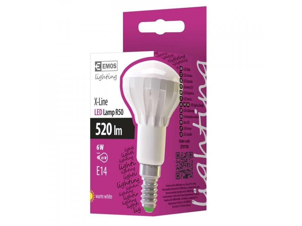 EMOS Lighting LED žárovka Premium R50 6W E14 teplá bílá Z73710